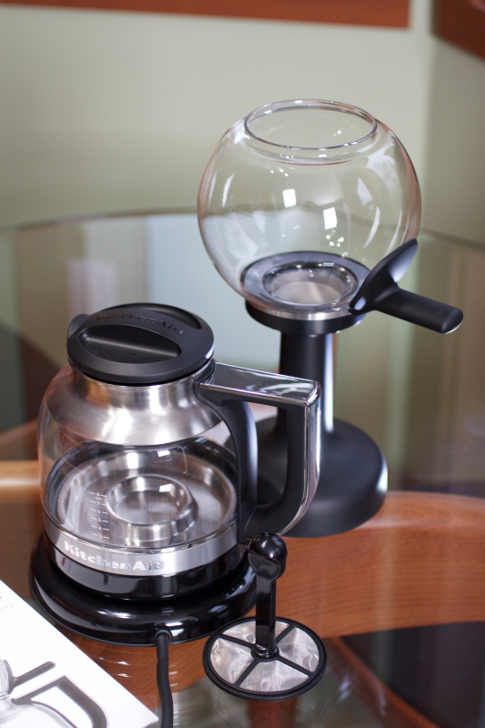 Kitchen Air Vacuum brewer with stand